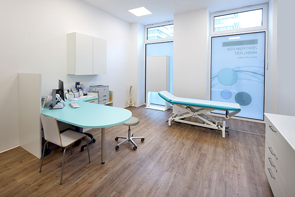Behandlungsraum im ZFM - Zentrum für Mobilität in Wien