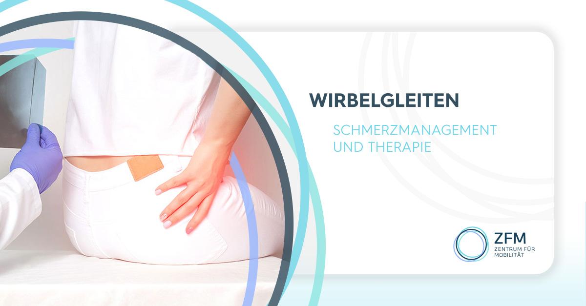 Wirbelgleiten - Schmerzmanagement und Therapie - Bild einer Frau mit Schmerzen im unteren Lendenwirbelbereich